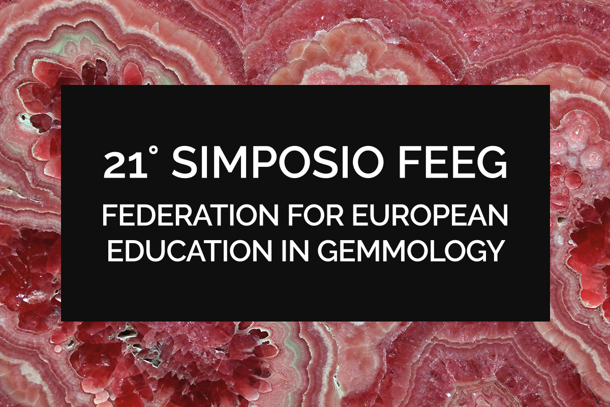 Simposio della Federation for European Education in Gemmology FEEG